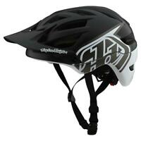Troy Lee Designs 2020 A1 MTB Helmet MIPS Classic Black/White All Sizes