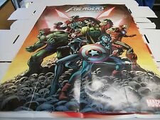 AVENGERS ULTRON FOREVER #1 PROMO 36 X 24 POSTER BY ALAN DAVIS -  2015