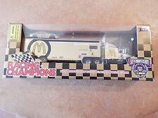NASCAR MCDONALDS GOLD 50 ANNIVERSARY CAR & TRANSPORT TRUCK BILL ELLIOTT # 94