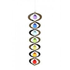 1pc Chakra Suncatcher Spinning Hanging Mobile 7 colour Gems