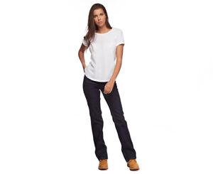 Dark Blue Stretch Denim Jeans Size 8 Work Pants $79.95 KingGee