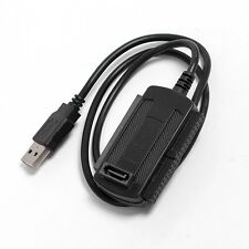 3 in 1 USB 2.0 to SATA / IDE HD HDD Adapter Cable