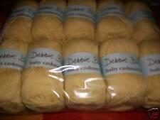 DEBBIE BLISS BABY CASHMERINO knitting wool shade  340001  primrose yellow