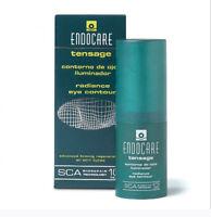 Endocare Tensage Eye Contour Radiance SCA 10% 15ml 0.5oz New in box  #usau