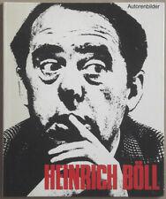 "CHARGESHEIMER. Heinrich Böll. Hohwacht-Verlag, ""Autorenbilder"",1968. E.O."
