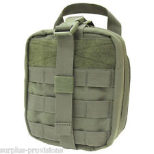 Condor - Tactical Rip-Away EMT Pouch - O.D. Green - Large first aid bag - #MA41
