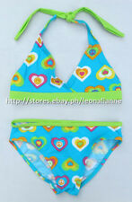 42% OFF!  AUTH CIRCO GIRLS 2pc HALTER SWIMSUIT SET LARGE 10/12 yrs BNEW US$10.99