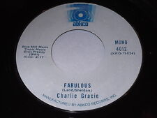 Charlie Gracie: Fabulous / Butterfly 45 - Rockabilly