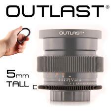 OUTLAST 5mm Flexible Follow Focus Gear Aperture Iris Lens Cinema Gear Universal