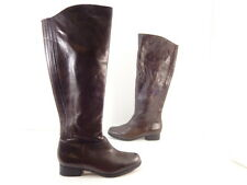 Womens Me Too Astor Tall Leather Riding Boots Brown Size 6 M Great Deal !!!