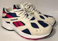 Reebok Classic Aztrek Hexalite White Red Athletic Running Shoes Size 8 CN7068