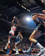 1973 ABA Dr J Julius Erving New York Nets vs Carolina Cougars Color 8 X 10 Photo