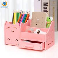 Creative Pen Holder Fashion Student Cute Children Desktop Ornaments Storage Box