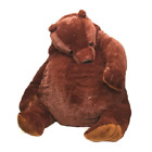 60cm giant simulation DJUNGELSKOG bear toy Brown Teddy Bear Stuffed Animal Toys