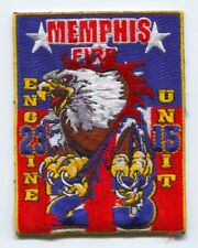 Memphis Fire Department Engine 23 Unit 15 Patch Tennessee TN SKUFC1
