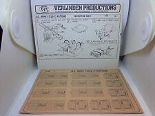 VERLINDEN PRODUCTIONS U.S. ARMY FIELD C-RATIONS ONDERNEMERSSTRAAT 4 8822-01 1/35