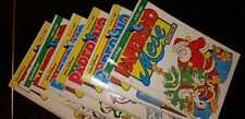 Fumetto PAPERINO MESE della Walt Disney - Anno 1986 solo 6 numeri tra 67 e 78