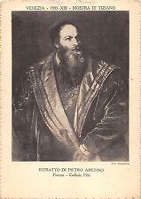 B6877 Arts Peintures Tiziano Ritratto di Pietro Aretino Firenze Galleria Pitti