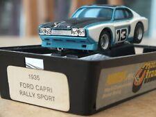 AURORA AFX FORD CAPRI RS2600 RALLY SPORT #13 BOXED CLAM HO SLOT CAR TOMY TYCO