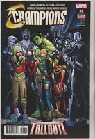 Champions #8 Mark Waid Marvel Comic 1st Print 2017 unread NM