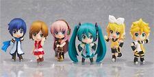 6pcs Cosplay Vocaloid Hatsune Miku Cute PVC Figure Model hot Toy Gift New NO Box