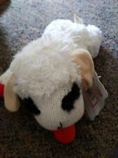 "Multipet Lambchop 10"" Plush Lamb Chop Dog Toy New With Tags Free Shipping"