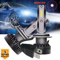 2X Mini H1 H4 H7 H8 H9 H11 9005 9006 110W Auto LED Bombilla del faro lalámpara