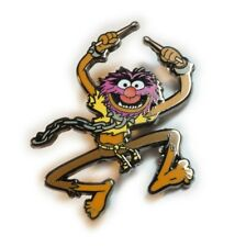 Muppets ANIMAL Drummer 80s TV Show Jumbo Fantasy Hat Jacket Tie Tack Lapel Pin
