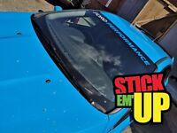 BEST XL Ford Performance Sun Strip SunStrip focus ST RS Vinyl Decal NEW