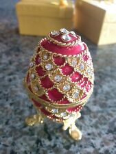 New listing Red Crystal Faberge Egg
