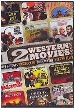 12 WESTERN MOVIES (DVD, 2014, 3-Disc Set) NEW