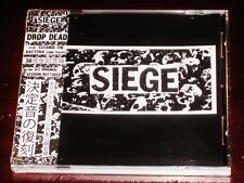 Siege: Drop Dead - 30th Anniversary Edition CD 2015 Bonus Tracks Disk Union NEW
