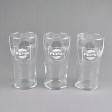 3 x Pepsi-Cola Gläser - Glas - 0,2 Liter - Vintage - alte Trinkgläser - Glasses