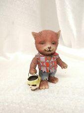 New Listing(Rare) Jim Shore Heartwood Creek Mini Werewolf Halloween 4041142 skull