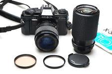 Minolta X-300s + Soligor 35-70mm + RMC Tokina 80-200mm F3.5-4.5