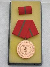 """@@ DDR Pouces ORDRE """" Médaille du mérite de administration douane """" en bronze"""
