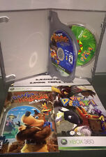USED BANJO-KAZOOIE: NUTS & BOLTS + VIVA PINATA (XBOX 360) COMPLETE WITH MANUALS