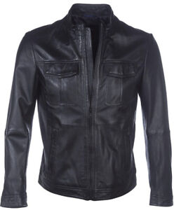 Men's HUGO BOSS Leather Jacket. Finest Lamb Nappa. Bought for £750 & Worn ONCE!