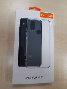 Funda - Xiaomi, Para Xiaomi Mi A2, Rígida, Transparente