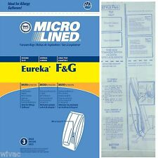 Eureka Sanitaire F&G Upright Vacuum Bags Koblenz (3pk)