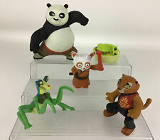Kung Fu Panda McDonalds 5pc Lot Master Viper Po Mantis Tigress Shifu 2008 Toys