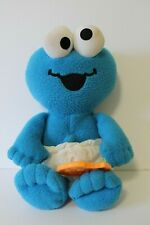 Fisher Price Cookie Monster Sesame Street Plush Diaper Stuffed Toy 2005