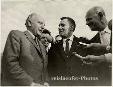 Walter Scheel mit Andrej Gromyko. Original-Photo von 1970