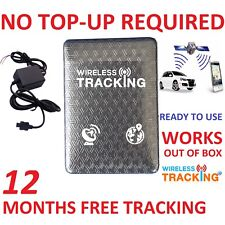 1 Year Free UK Data with Genuine TK310 Tiny Vehicle Tracker Car GPS Tracker