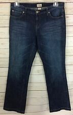 "Gap Long & Lean Medium Wash Boot Cut Jeans Size 10/30 L 33"" Inseam"
