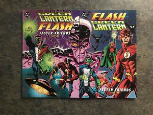 Faster Friends Green Lantern/Flash #1-2 Complete Set 1997 DC Comics VF
