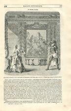 Zémire et Azor opéra-ballet d'André Grétry  Jean-François Marmontel GRAVURE 1846
