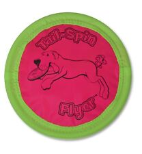 Aspen Booda SOFT BITE FLOPPY DISC Gentle Dog Fetch Toy Flyer Frisbee 10 inch