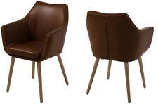 pkline Arm Chair Brown Retro Chair Chair