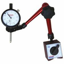 """TÜRLEN Dial Indicator 3D Magnetic Base Holder 14"""" Reach Central Locking 176 lb"""